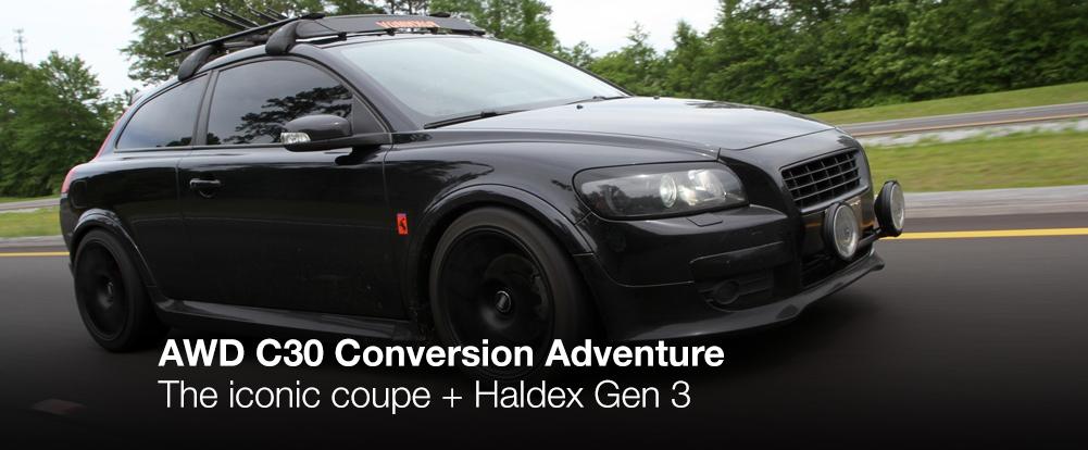 awd c30 conversion adventure swedespeed rh swedespeed com