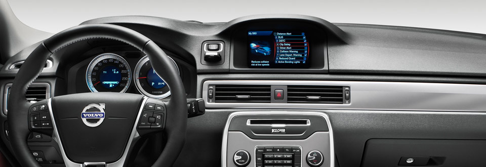 2012 Volvo S80, V70, and XC70 Get New Interior, Content Updates ...