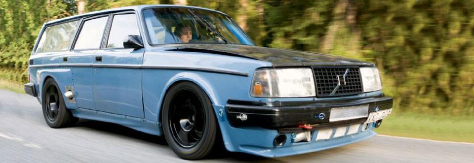 Eurotuner Magazine Features Incredible Widebody Volvo 245