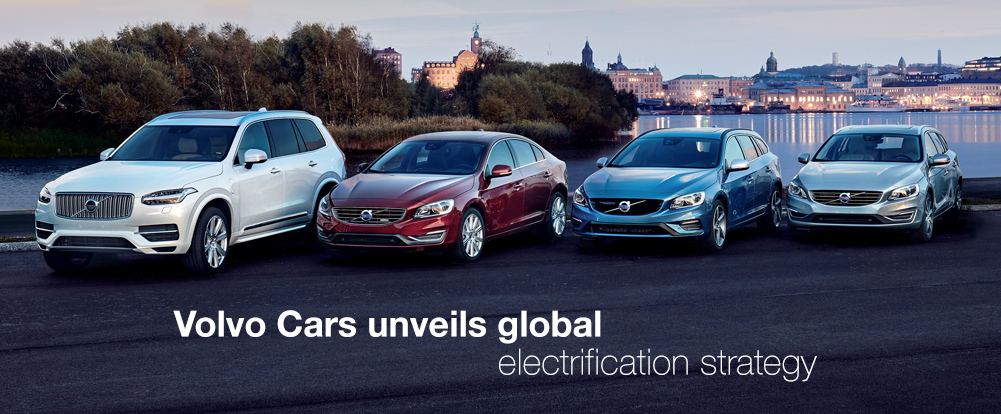 Volvo Cars unveils global electrification strategy - Swedesd
