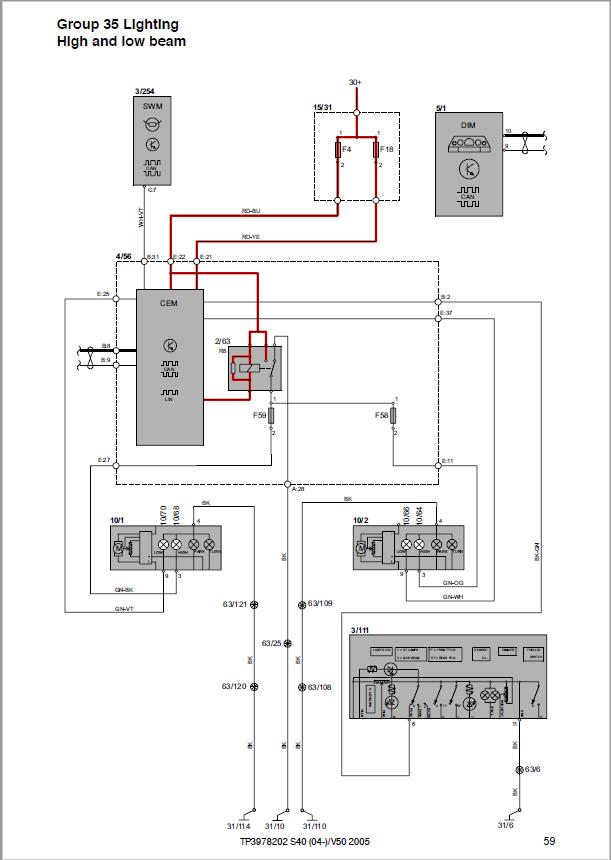 need headlight switch wiring diagram /ideas... | SwedeSpeed - Volvo  Performance Forum | Volvo S40 Headlight Wiring Diagram |  | SwedeSpeed
