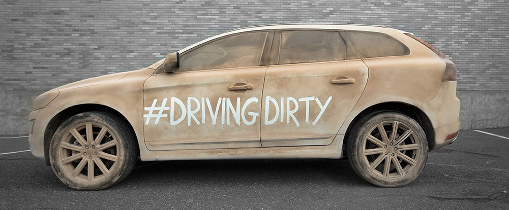 Volvo Announces #DrivingDirty Movement