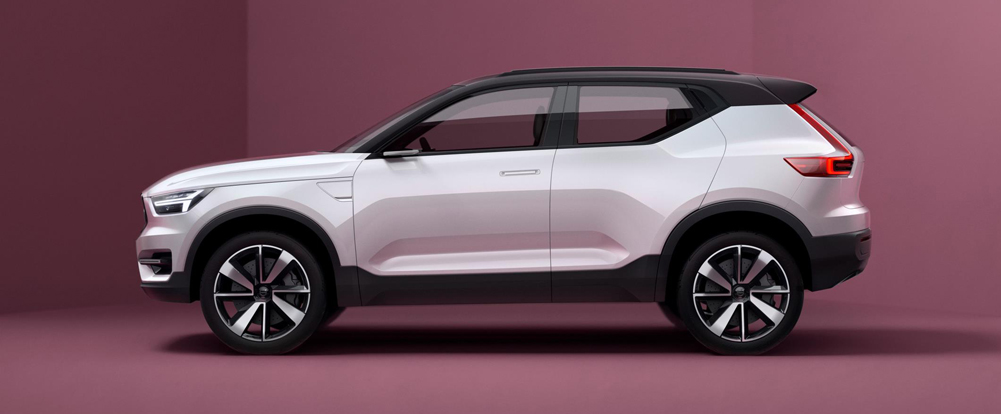 Volvo provides the first look at its new range of smaller cars