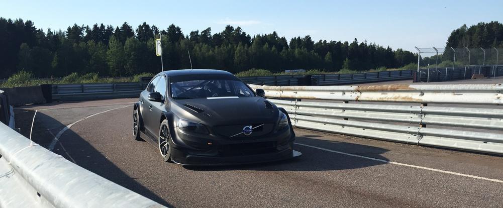 Polestar Cyan Racing WTCC test car