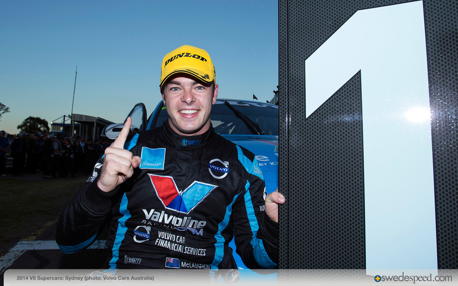 Victory in Sydney, V8 Supercars Series