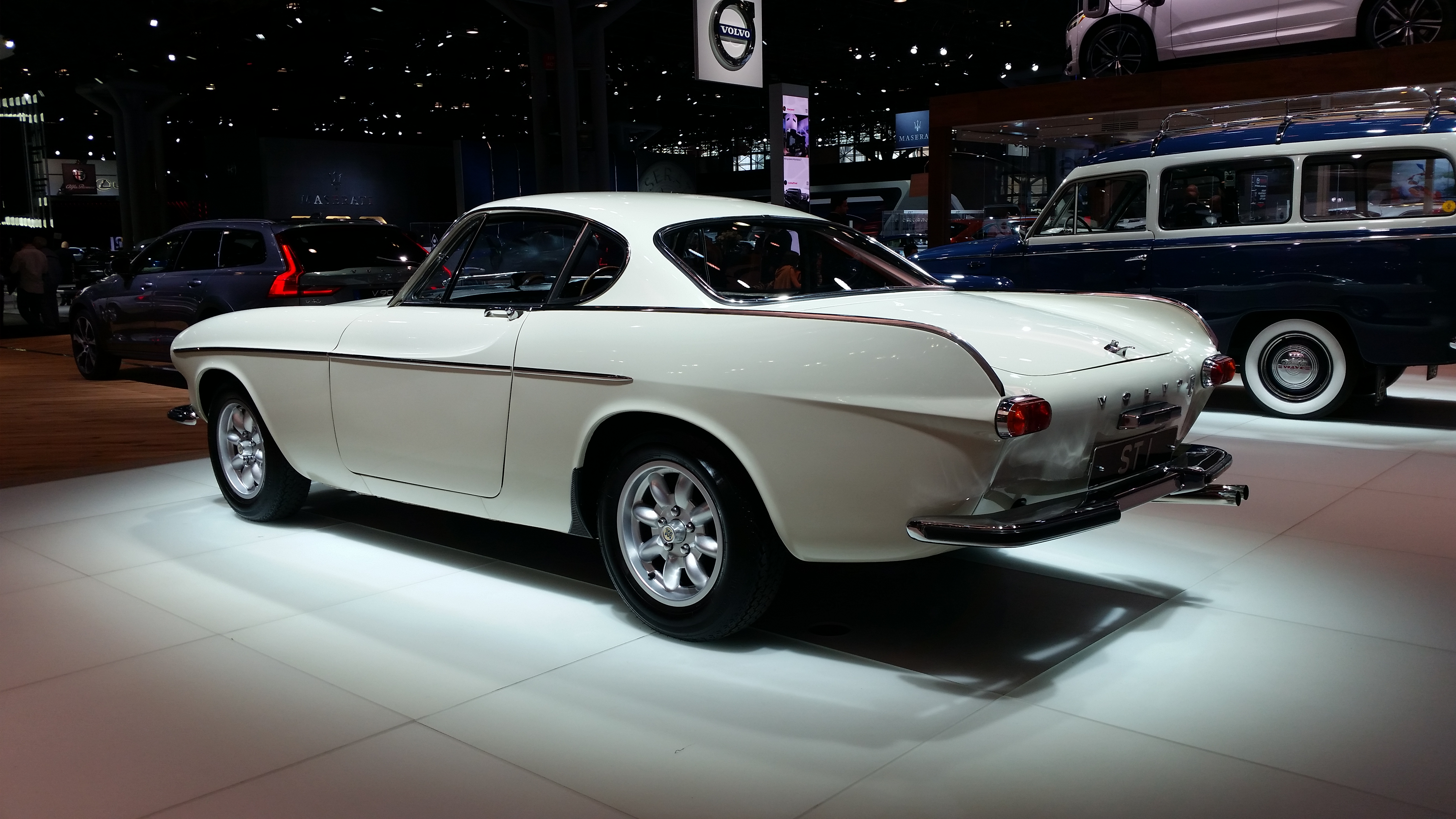 Gallery: The Saint's P1800 in New York - Swedespeed