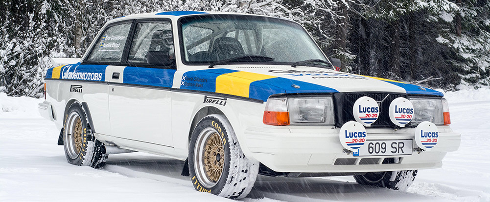 Find of the Day: Ex-Works Volvo 242 Turbo Rally Car - Swedespeed