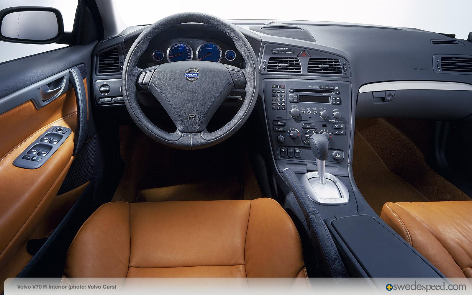 Volvo V70 R Interior