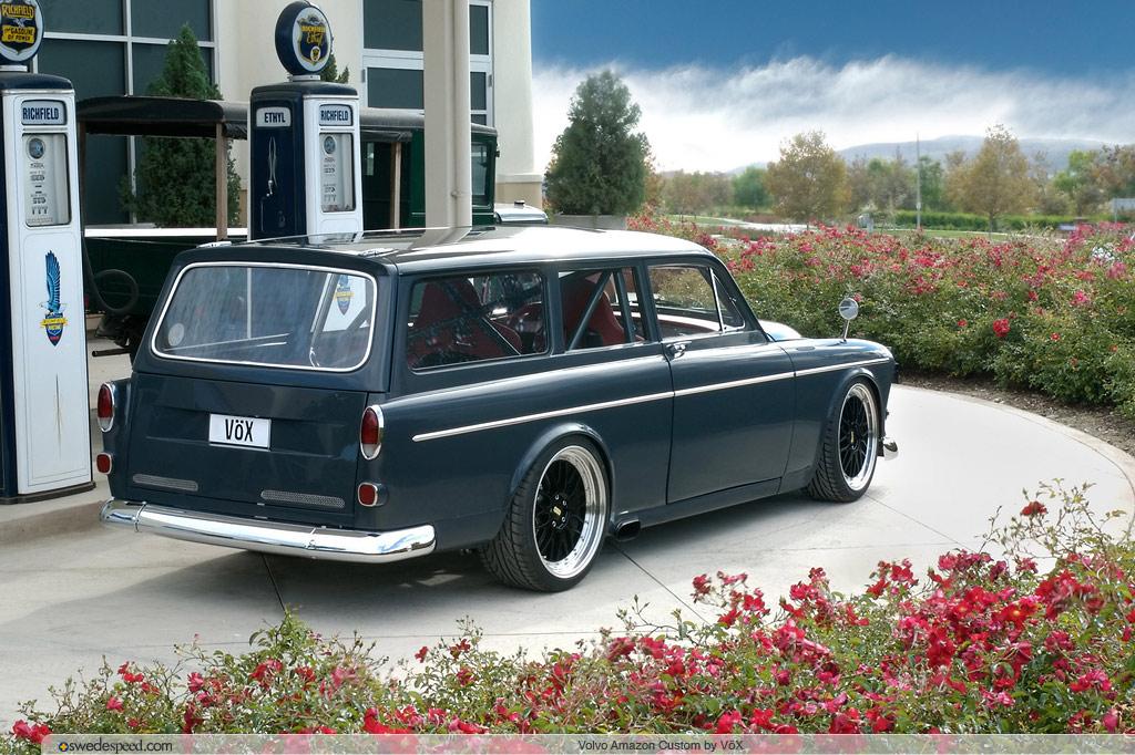 The Fastest Car in Britain? TV Presenter Guy Martin Takes Delivery of the VOX Volvo Amazon ...