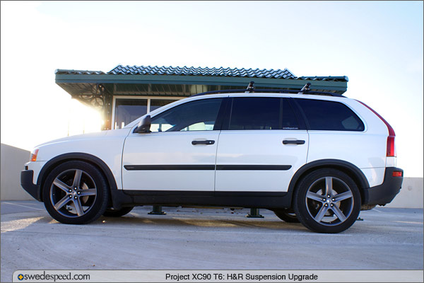 Project XC90 T6: H&R Suspension Upgrade