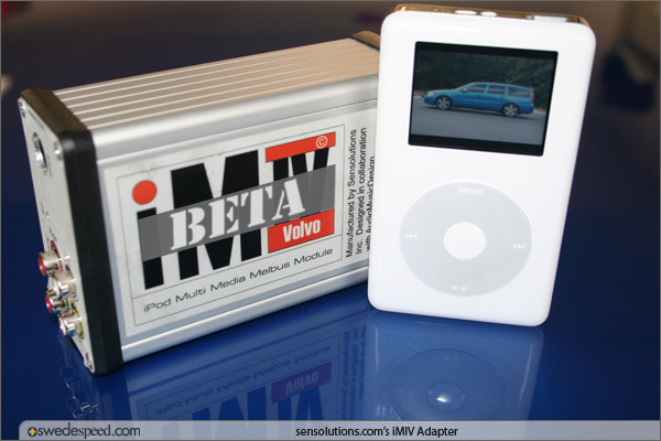Project V70R: iPod Front Seat Entertainment
