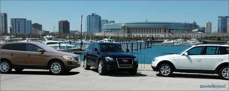 Crossovers Compared Volvo Xc60 T6 Takes On Bmw X3 And Audi Q5