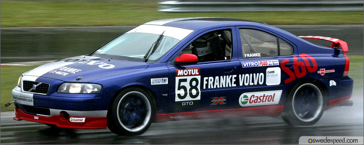 Driving His Volvo S60 Challenge Car, Bernard Franke Wins the 2006 GTO Championship!