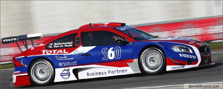 b76d49011b Volvo S60 Finishes Ninth in First BTCS Race