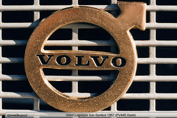 Volvos Iron Logo Back In The Center