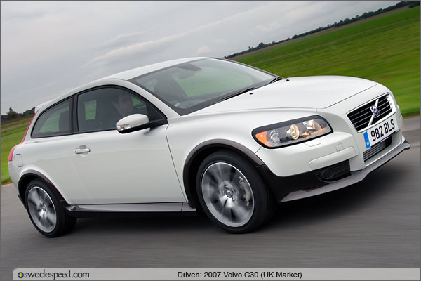 Driven 2007 Volvo C30 T5 Uk Spec