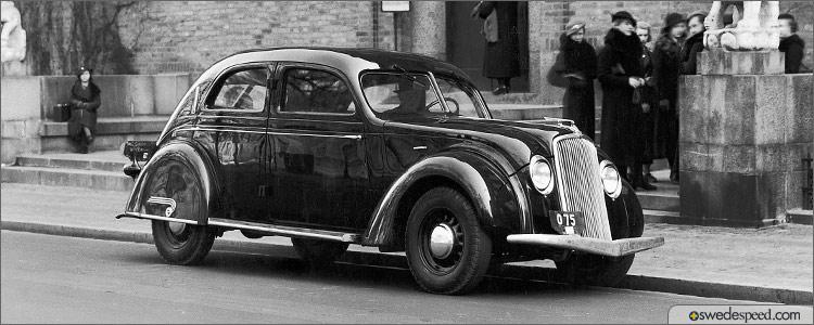1935 Volvo Pv36 Carioca Celebrates 75th Birthday