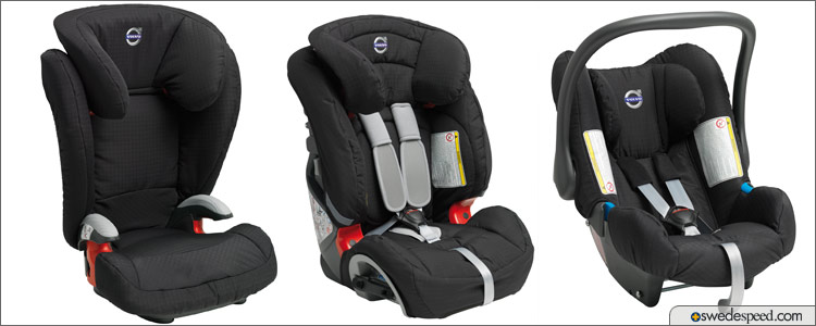 Volvo Launches Range Of Crash Tested Allergy Free Child Seats For UK Market