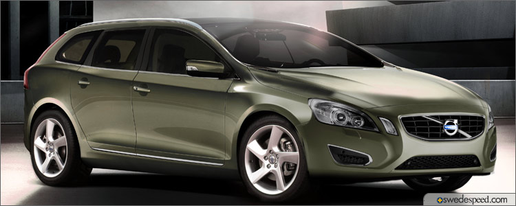 More Swedespeed Renderings: 2011 Volvo V60 and V60R Wagon