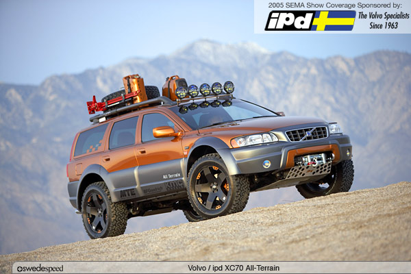 Volvo XC70 All Terrain by ipd Custom Built for Almost Anything