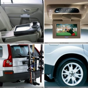 Aftermarket Volvo Accessories XC90 (from 2003, P2