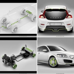 Events Coverage Industry Shows Frankfurt IAA 2007 Volvo C30 ReCharge Concept